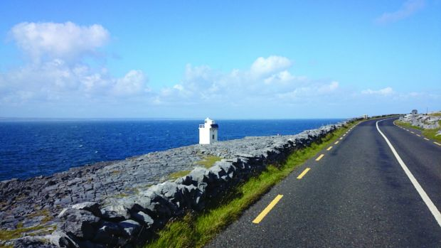 Watch out for Blackhead Lighthouse, near Ballyvaughan, Co Clare