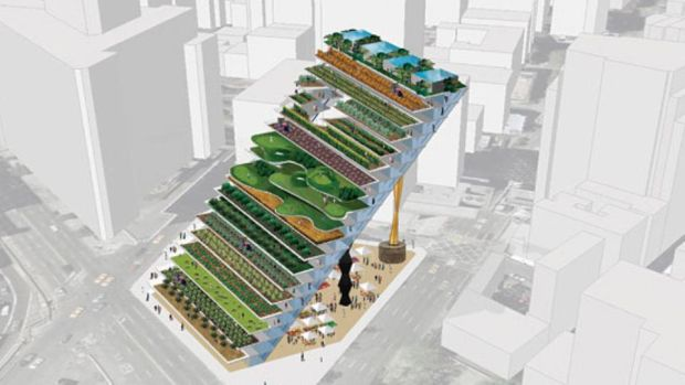 WORKac: Dan Wood and Amale Andraos's Locavore Fantasia, a city-farm project commissioned by New York magazine