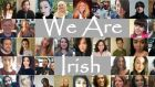 The collage made by Úna-Minh Kavanagh after she started the #WeAreIrish hashtag