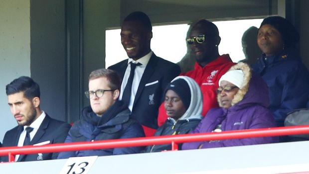 Sakho looks on from the stands during Liverpool's clash with Newcastle last year. Photo: Clive Brunskill/Getty Images