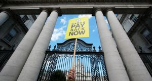Pay and display: the boom-time rise in incomes was one reason we got in such trouble. Photograph: Nick Bradshaw