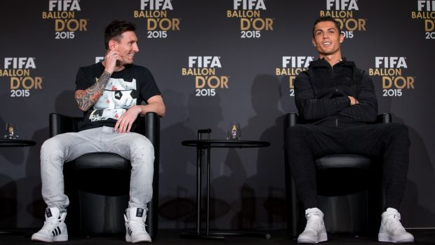 The pair have dominated the Ballon d'Or for years. Photo: Getty Images