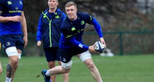 Dan Leavy will switch to openside flanker for Leinster. Photograph: Donall Farmer/Inpho