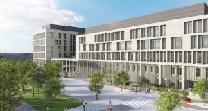 Illustration of the new National Maternity Hospital, plans for which have been thrown into jeopardy on Friday evening.