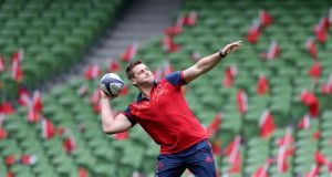 CJ Stander: named in the Lions squad in midweek, the South African is recalled to Munster's  starting line-up for the visit of Saracens. Photograph: Dan Sheridan/Inpho