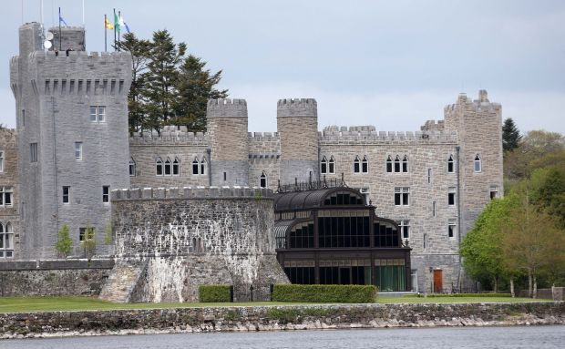 Another view of the wedding set-up at Ashford Castle. Photograph: Colin Keegan/Collins Dublin