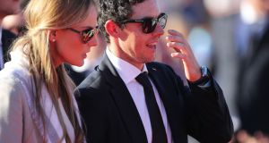Rory McIlroy and his fiance Erica Stoll photographed last year. They were to marry on April 22nd, 2017 in Ashford Castle, Cong, Co Mayo. Security was tight at the venue, and privacy paramount for the couple. File photograph: Peter Byrne/PA Wire