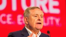 Brendan Howlin hits out at 'racist' Trump