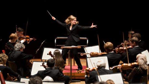 Mirga Grazinyte-Tyla: conductor of City of Birmingham Symphony Orchestra, at the National Concert Hall in Dublin
