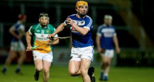 Laois' Charles Dwyer in action in O'Moore Park. Photograph: Tommy Dickson/Inpho
