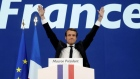 Macron and Le Pen address French voters after first round wins
