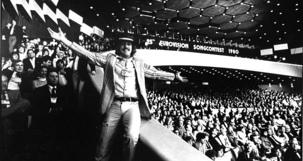 Shay Healy At The 1980 Eurovision Song Contest Where Winning Whats Another