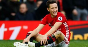 "Manchester United's Ander Herrera: ""We are in a very good moment, a very good run and we respect them, but we are doing a lot of good things and we have to show it on Thursday."" Photograph:  Reuters/Jason Cairnduff"