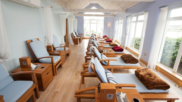 The relaxation room at Inchydoney Island Lodge & Spa