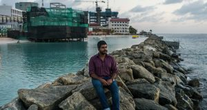 Yameen Rasheed, a liberal blogger who wrote satirical critiques of the Maldivian government and the spread of radical Islam, in Male, the Maldives, on February 17th. Photograph: Adam Dean/New York Times