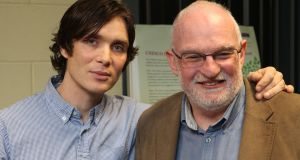 Actor Cillian Murphy and Prof Pat Dolan, director of the Unesco Child and Family Research Centre at NUI Galway