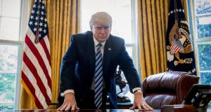 US president Donald Trump: likely to face resistance in Congress where Republicans are wary of any measure that might increase the deficit. Photograph: AP