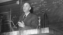 Nobel laureate for physics Enrico Fermi believed that anyone with a reasonable arsenal of basic facts could use them to estimate a wide range of quantities. Photograph: Keystone/Getty Images