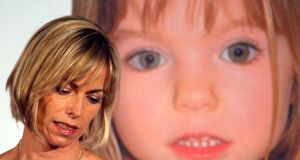 Kate McCann, whose daughter Madeleine went missing during a family holiday to Portugal in 2007said the 10th anniversary is a 'horrible marker of time, stolen time'. File photograph: Chris Helgren/Reuters