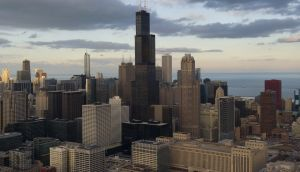"Chicago, one of the ""sanctuary cities""  that limit their co-operation with US federal immigration enforcement. Photograph: Saul Loeb/AFP/Getty Images"