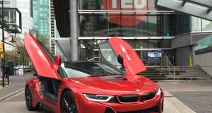 BMW has joined forces with the  Ted conference  to identify pioneering mobility ideas.