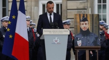 'You will not have my hate': partner of killed Parisian police officer