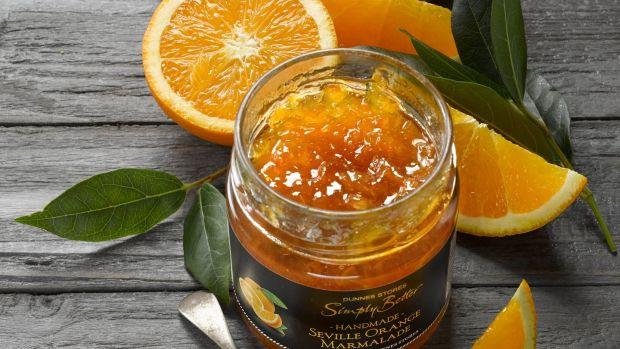 Simply Better Limited Edition Seville orange marmalade.