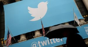 Twitter's advertising revenue fell 11%  to $474m in the first quarter