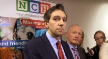 Minister Harris on Maternity Hospital: 'I'm determined we're going to build it'