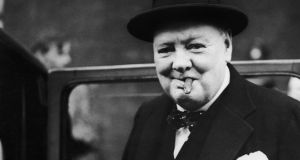 "Winston Churchill: ""to jaw-jaw is better than to war-war"". Photograph: Hulton Archive/Getty Images"