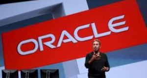 Oracle chairman and founder Larry Ellison. Firm's main Irish arm reported €10.4 million operating loss for last year