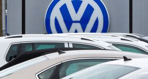 Volkswagen's lawyers walked out  during a September hearing before  Judge Mary  Devins at Castlebar District Court.  Photograph: Paul J Richards/AFP/Getty