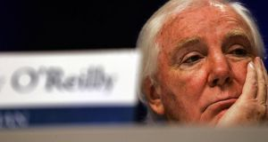 Sir Anthony O'Reilly: almost all of his  assets have been sold off and so the public scrutiny will soon end. Photograph: Cathal McNaughton/PA