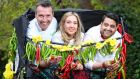 Taste of Dublin returns to the Iveagh Gardens in Dublin from June 15th to 18th. Pictured at the launch of the festival are Kevin Dundon, owner of Dunbrody House, Aoife Noonan, executive pastry chef at Luna and Sunil Ghai, head chef at Pickle.