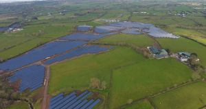Bann Road solar farm: facility will produce enough clean energy from the sun to offset nearly a million tonnes of CO2.