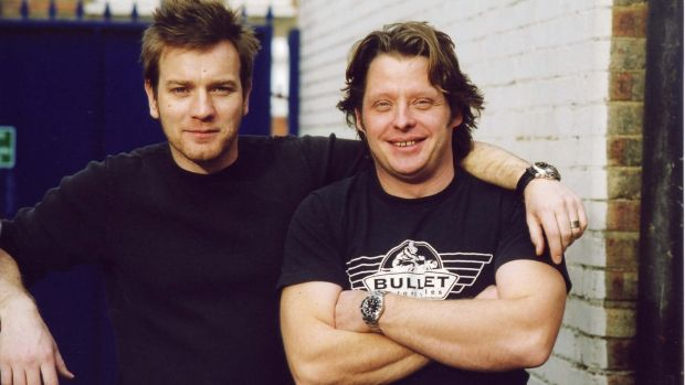 Charley Boorman with his friend and fellow motorbike enthusiast, Ewan McGregor.