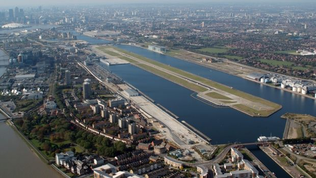At the heart of the city, London City Airport is the sixth most scenic landing strip in the world.