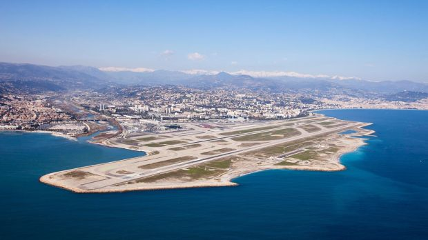 Nice Côte d'Azur airport, gateway to Provençe and the world's third most scenic place to land an aircraft