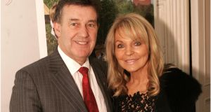 File photograph of Bill Cullen and Jackie Lavin in  Dublin. File photograph: Dara Mac Dónaill/The Irish Times