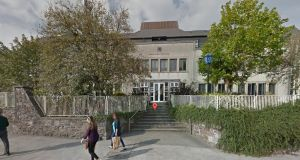 A man and woman believed to be British citizens have been  arrested in Waterford city  and taken to Waterford Garda station (above) for questioning. File photograph: Google Street View