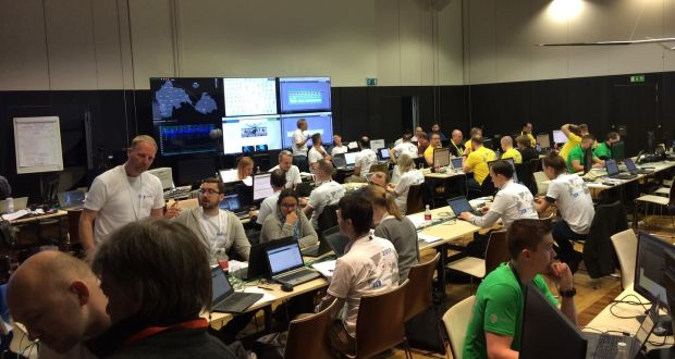 Cyber defenders fight hackers in high-tech Estonia war games
