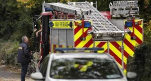 Four units of Dublin Fire Brigade from Skerries, Balbriggan, Finglas, Swords and a water tanker attended the fire, which has since been cordoned off for a technical examination.  File photograph: Getty Images