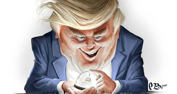 Image result for trump 100 days cartoon