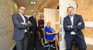 HQTralee, which was officially launched by Minister for Jobs Mary Mitchell O'Connor, plans to support up to 100 jobs by July. Photograph:  Valerie O'Sullivan