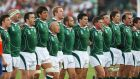 Just three of the players that lined up for Ireland against Namibia in Bordeaux at the World Cup 10 years ago are still playing. Photograph: Alex Livesey/Getty Images