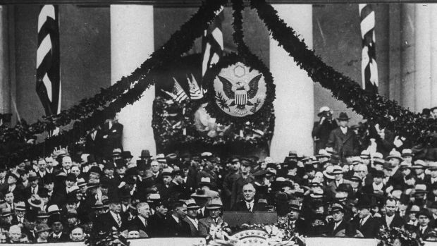 When Franklin D Roosevelt took the oath of office on March 4th, 1933, in the midst of the Great Depression, he promised the American public decisive action.