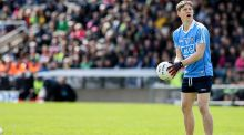 Con O'Callaghan: will pose a big threat to Galway's defence as Dublin bid for U-21 All-Ireland crown at Tullamore.   Photograph: Philip Magowan/Presseye/Inpho