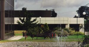 One of the buildings designed by Fred Browne: Amdahl in Swords