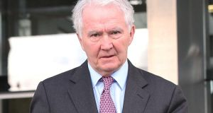 Former chairman of Anglo Irish Bank Sean Fitzpatrick. File photogrpah: Collins