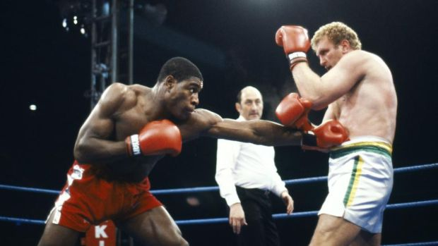 Bruno beat Bugner at White Hart Lane in front of 40,000 people. Photo: Getty Images